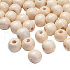 Natural Wood BeadsTB10mmY-8-1